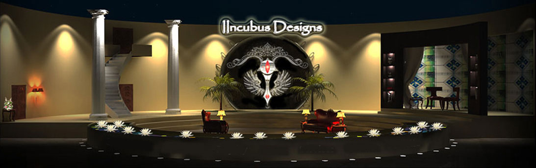 Stall Design Event Stage Interior And Construction Walkthrough Animated Movies Character Logos Mumbai